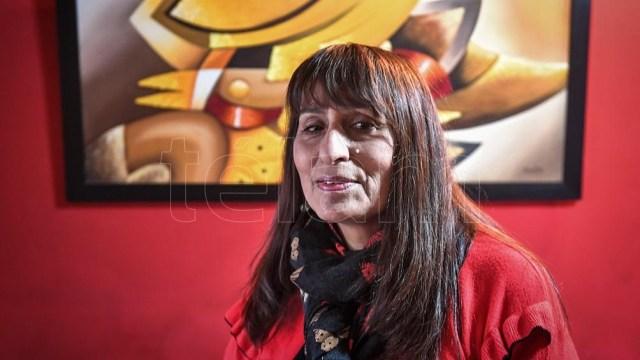 """""""Claro que hay resiliencia y capacidad de sobreponerse en las sobrevivientes"""", explicó Viviana Caminos. Foto: Victor Carreira"""