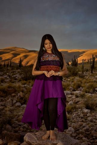 La cantante nacida en Abra Pampa