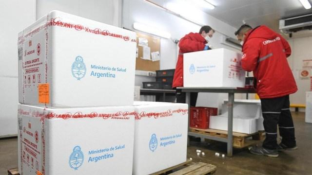 De acuerdo al Monitor Público de Vacunación, hasta la mañana del sábado se distribuyeron 41.509.514 dosis.
