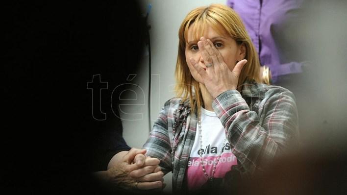 Carola Labrador, la madre que sigue pidiendo justicia.