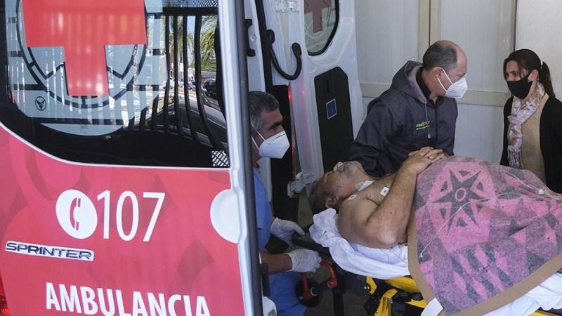 Arias fue herido de un balazo en el abdomen en la localidad de Tapebicuá.