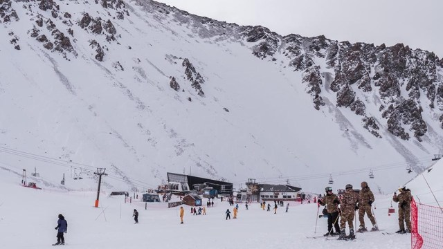 La mayoría de los visitantes, un 55%, llegaron desde otros puntos de Chubut.