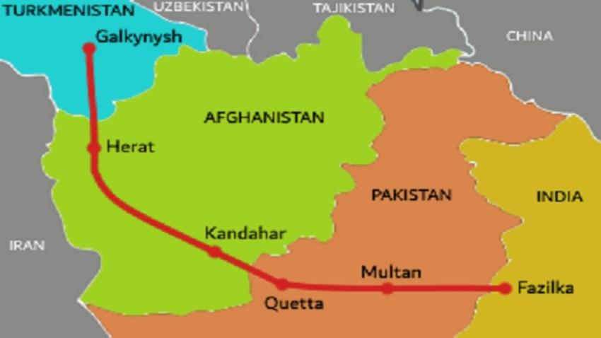 Gasoducto TAPI (Turkmenistán-Afganistán-Paquistán-India).
