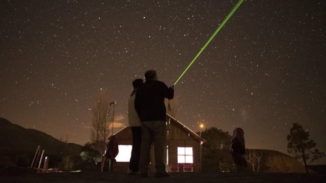 El Observatorio Astronómico Ampimpa revela secretos del cosmos.