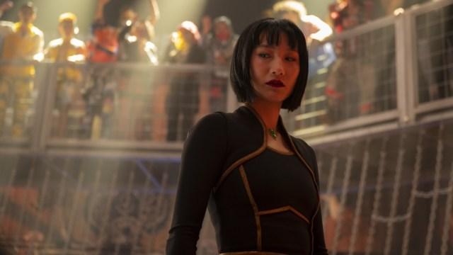 Awkwafina como Kathy Shan en la nueva propuesta de Marvel.