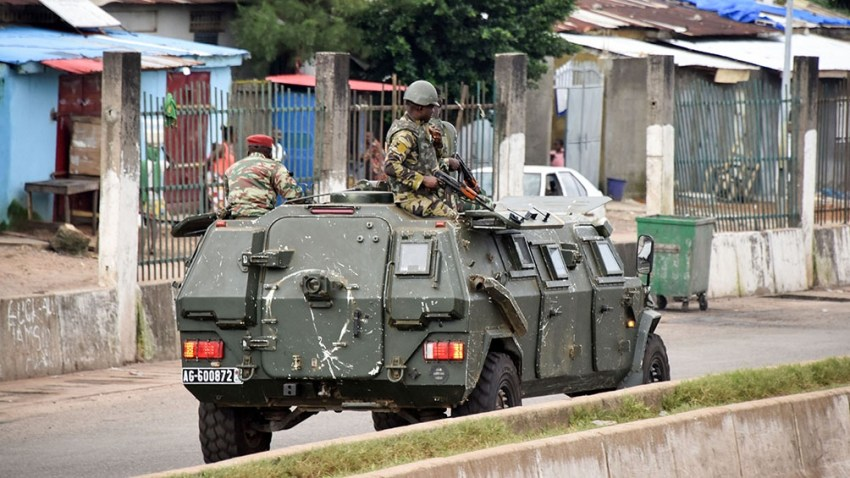 El domingo los militares toman el Gobierno guineano. Foto: AFP.