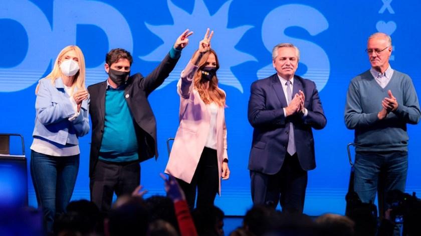 El cierre en el teatro Auditorium de Mar del Plata. (Foto: prensa)