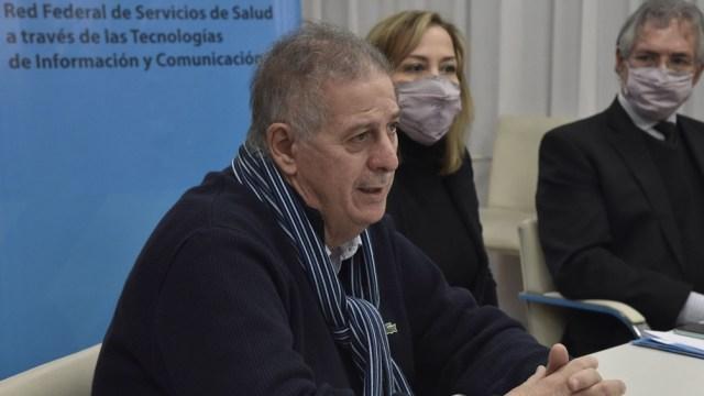 """Collia: """"Las franjas etarias que mayor prevalencia tienen son las de los 15 a 29 años y de 25 a 39"""". Foto: Prensa Ministerio"""