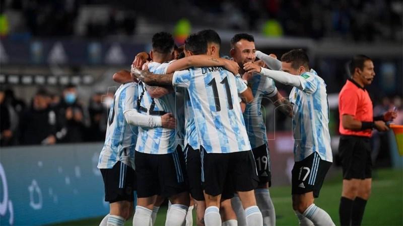 Argentina está segunda en las posiciones y tiene un partido pendiente ante Brasil. (Foto: Ramiro Gómez)
