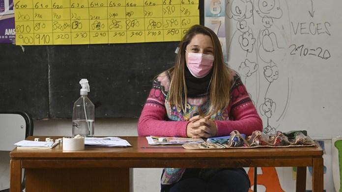 """""""La pandemia nos trajo algunas dificultades, pero muchísimos aprendizajes"""", dijo por su parte Paula del Cura. Foto: Sebastián Granata"""