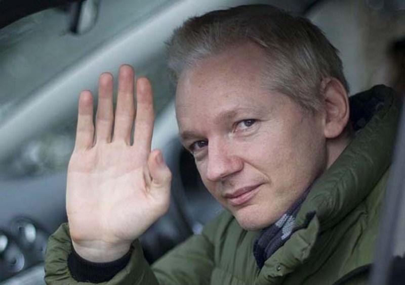 Julian Assange, informático australiano que fundó WikiLeaks.