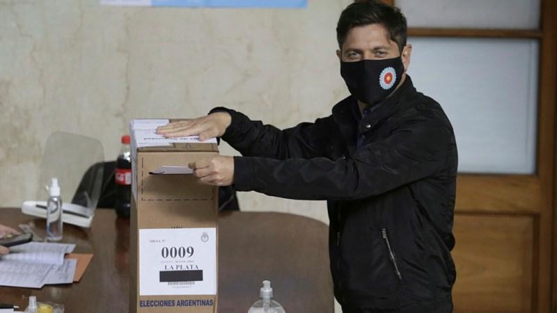 """Kicillof repasó que se lleva adelante un """"operativo inmenso"""" con un padrón de unos 13 millones de votantes."""