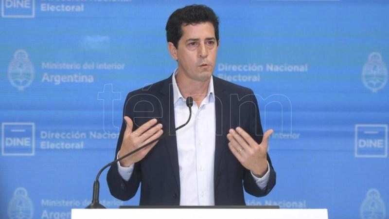 """Eduardo """"Wado"""" de Pedro, ministro del Interior. Foto: Julián Álvarez."""