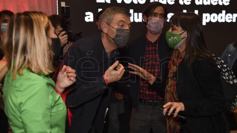 Giordano criticó duramente a Javier Milei. Foto: Alejandro Santa cruz