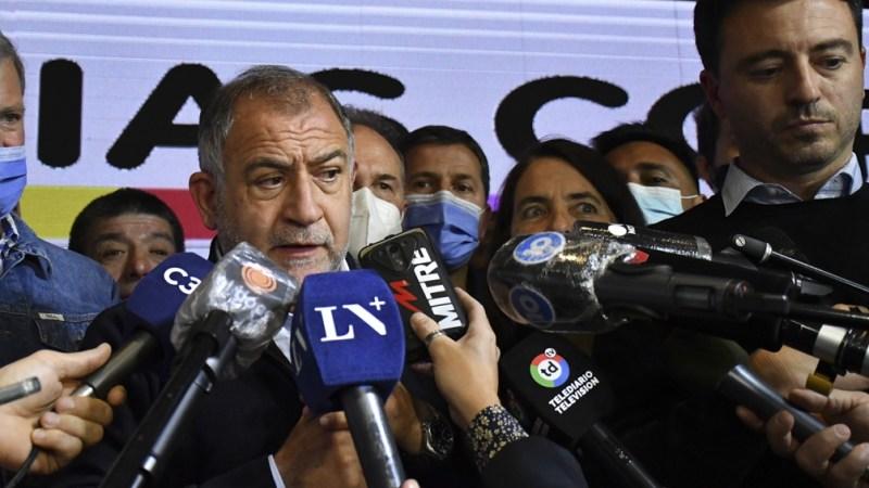Luis Juez, el gran ganador de las elecciones en Córdoba (Foto: Laura Lescano).
