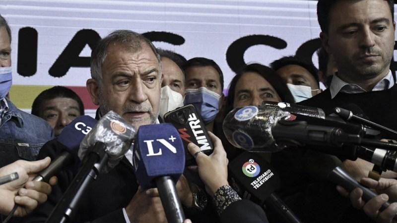"""""""La política no es un capricho"""", señaló Luis Juez, en referencia a la actuación de Mauricio Macri en Córdoba."""