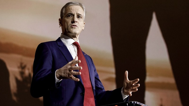 Jonas Gahr Store es el probable próximo primer ministro del Partido Laborista