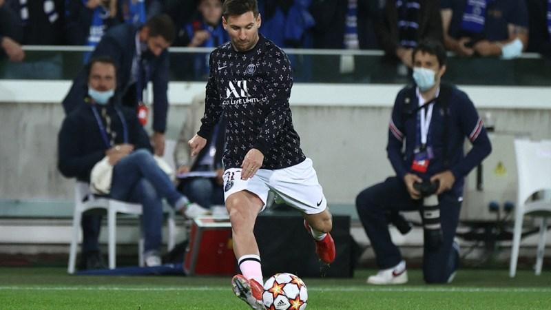 Messi titular en el once inicial. Foto: AFP