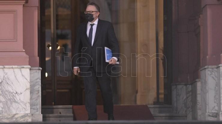 Matías Kulfas, ministro de Producción, estuvo presente en la reunión de ministros.