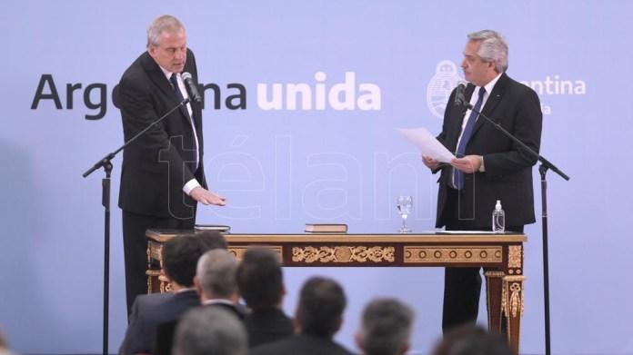 Perczyk, flamante ministro de Educación. Foto: Julián Álvarez.