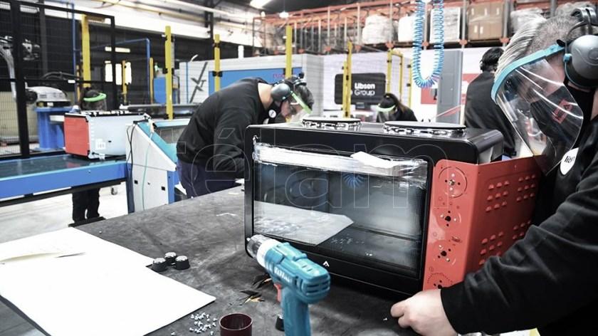 En julio de 2021 la producción fabril fue 5,6% mayor a la del mismo mes de 2019. Foto: Pablo Añeli.