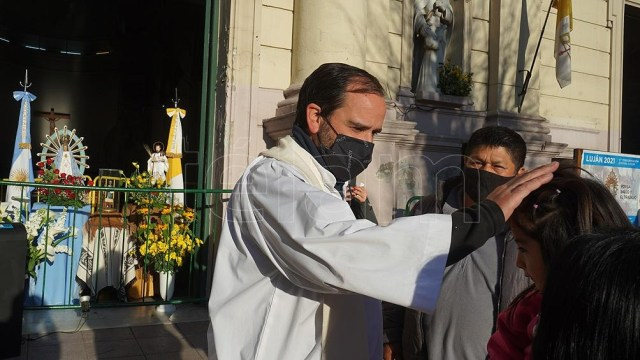 En torno a las 6.45 de mañana, domingo 3, la imagen llegará finalmente a Luján.