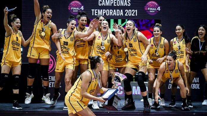 """Obras Basket, animadoras de la Liga Argentina, """"juegan"""" en vivo a través de Basquetpass.tv. Foto: Prensa AdC"""