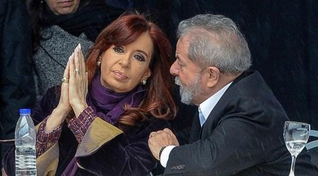 Lula comparó su persecución judicial con la de Cristina Fernández de Kirchner, Rafael Correa y Evo Morales.