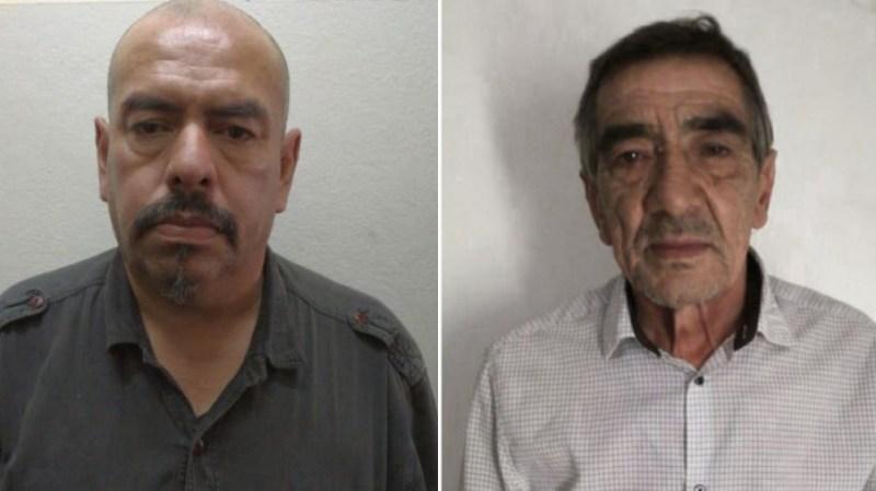 """Los dos acusados son Miguel Saturnino Rolón (53), alias """"Mambo"""", y Jorge Raúl Álvarez (65), alias """"Tío Jorge""""."""