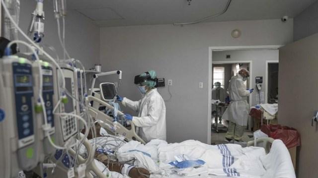 La cantidad de internados en terapia intensiva se redujo de 14 a 12 durante la última semana.