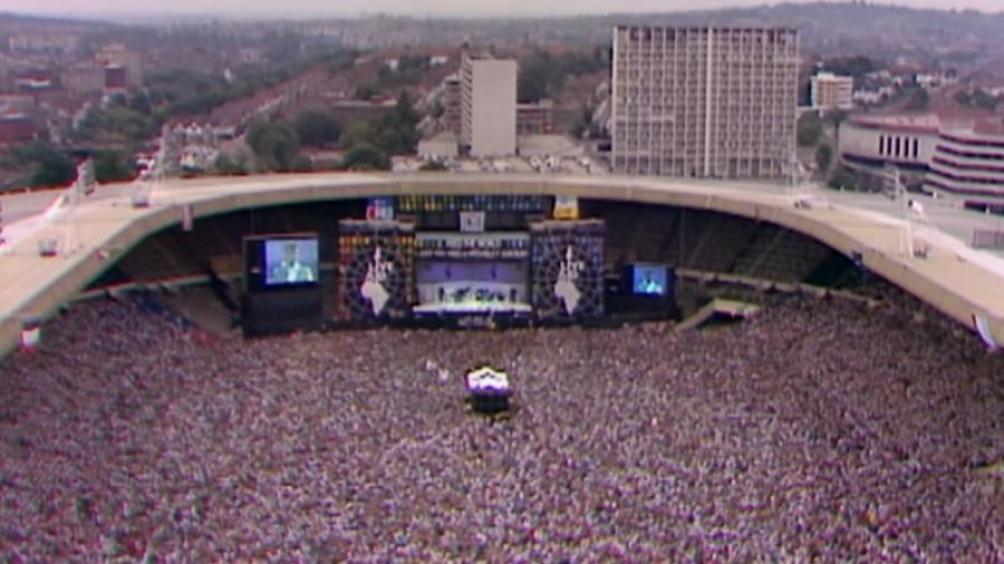 Estadio de Wembley 13 de julio de 1985