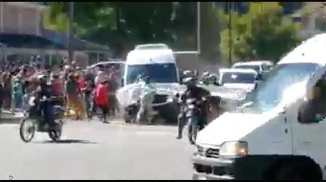 El ataque fue captado por filmaciones y fotografías