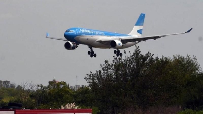 El segundo vuelo de esta semana de Aerolíneas Argentinas llegará con más dosis de la vacuna Sinopharm.