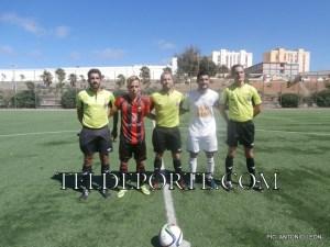 penalti TRIO Y CAPITANES