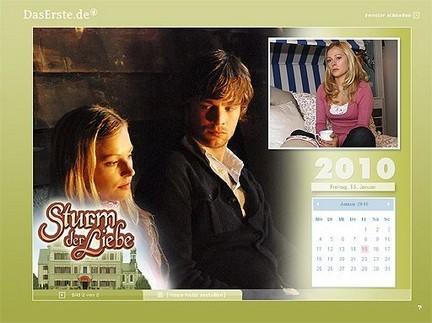 tempesta d'amore calendario 2010