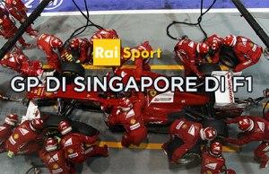 Gp di Singapore di F1 nel weekend di Rai Sport 2