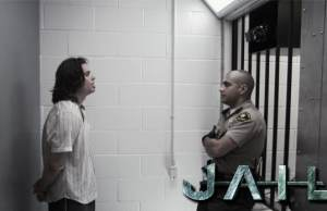 jail dietro le sbarre
