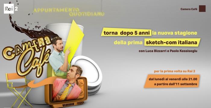Camera cafè con Luca e Paolo