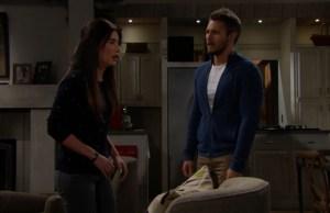 Liam confessa a Steffy