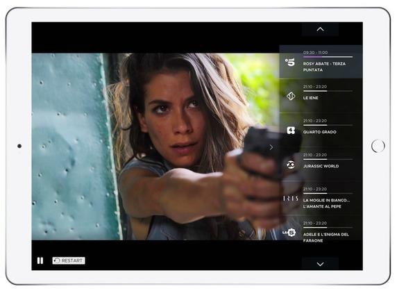 app mediaset su smart tv