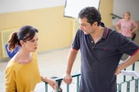 Anele_Illuminate_ ep.3 Rita Levi Montalcini_ Caterina Guzzanti e il regista Giacomo Faenza (2)
