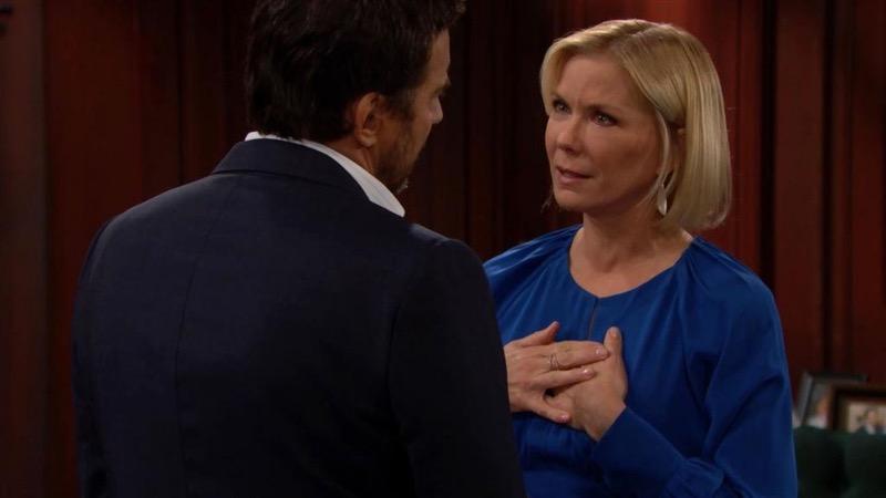 Brooke e Ridge discutono di Bill