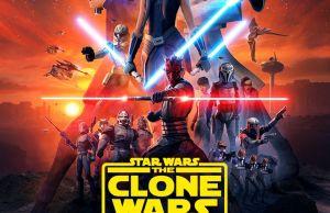 Star Wars: The Clone Wars - poster, trailer e data di uscita per la stagione finale 6