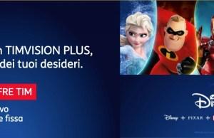 Timvision con Disney +