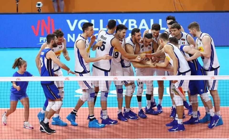 Italia-Argentina volleyball maschile La7