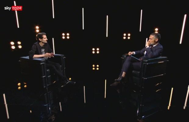 Fabio Rovazzi intervista Stories Sky tg24