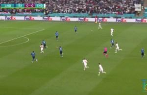 Italia-Inghilterra Euro 2020 ascolti tv rai uno