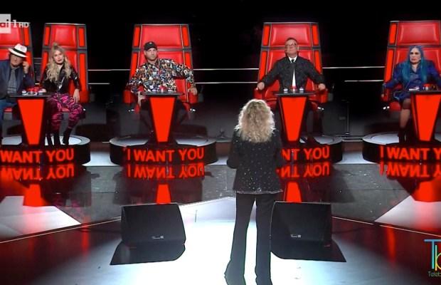 The voice senior ascolt tv rai uno