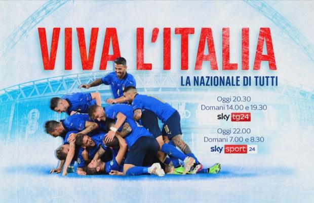 Viva l'Italia Sky Tg24 e Sky Documentaries