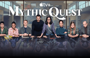Mythic Quest Apple TV+ poster